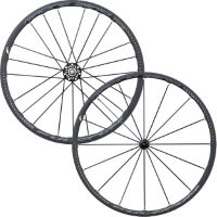 Set di ruote clincher alluminio Racing Zero Nite - Fulcrum