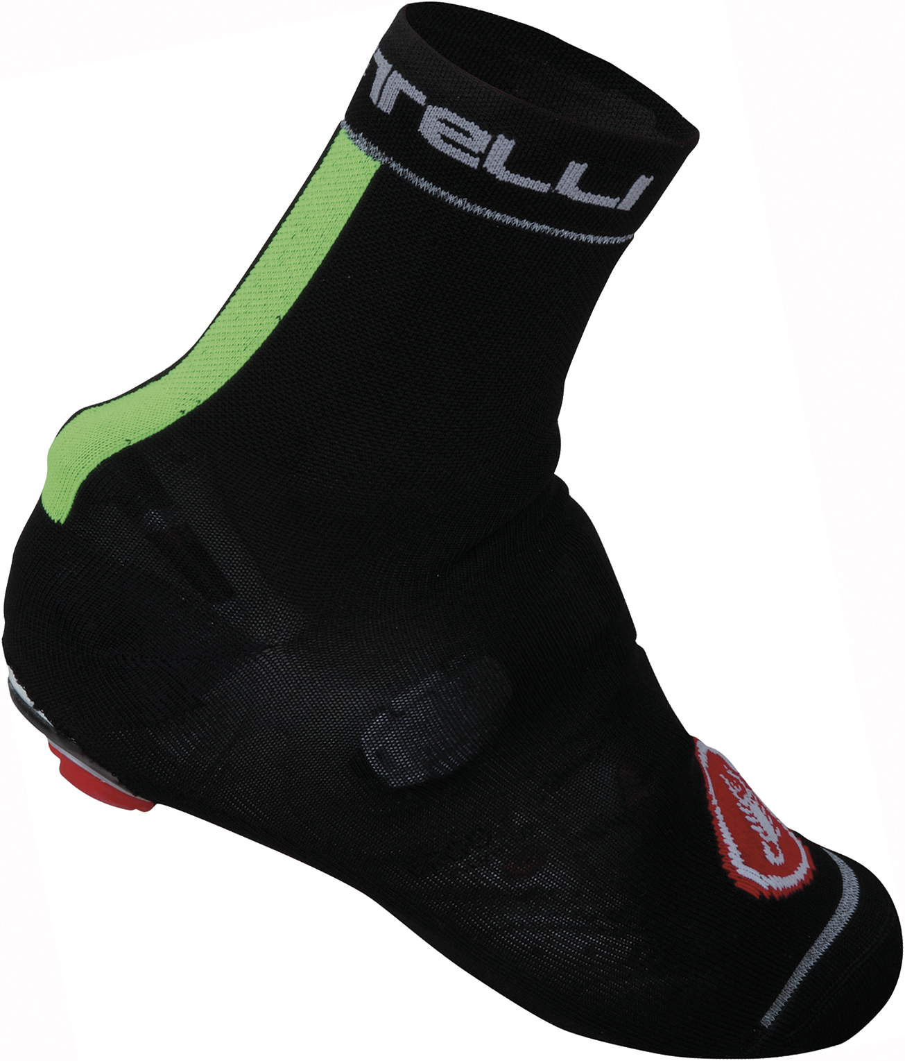 CASTELLI BELGIAN BOOTIE 4 BLACK/YELLOW FLUO | shoecovers_clothes