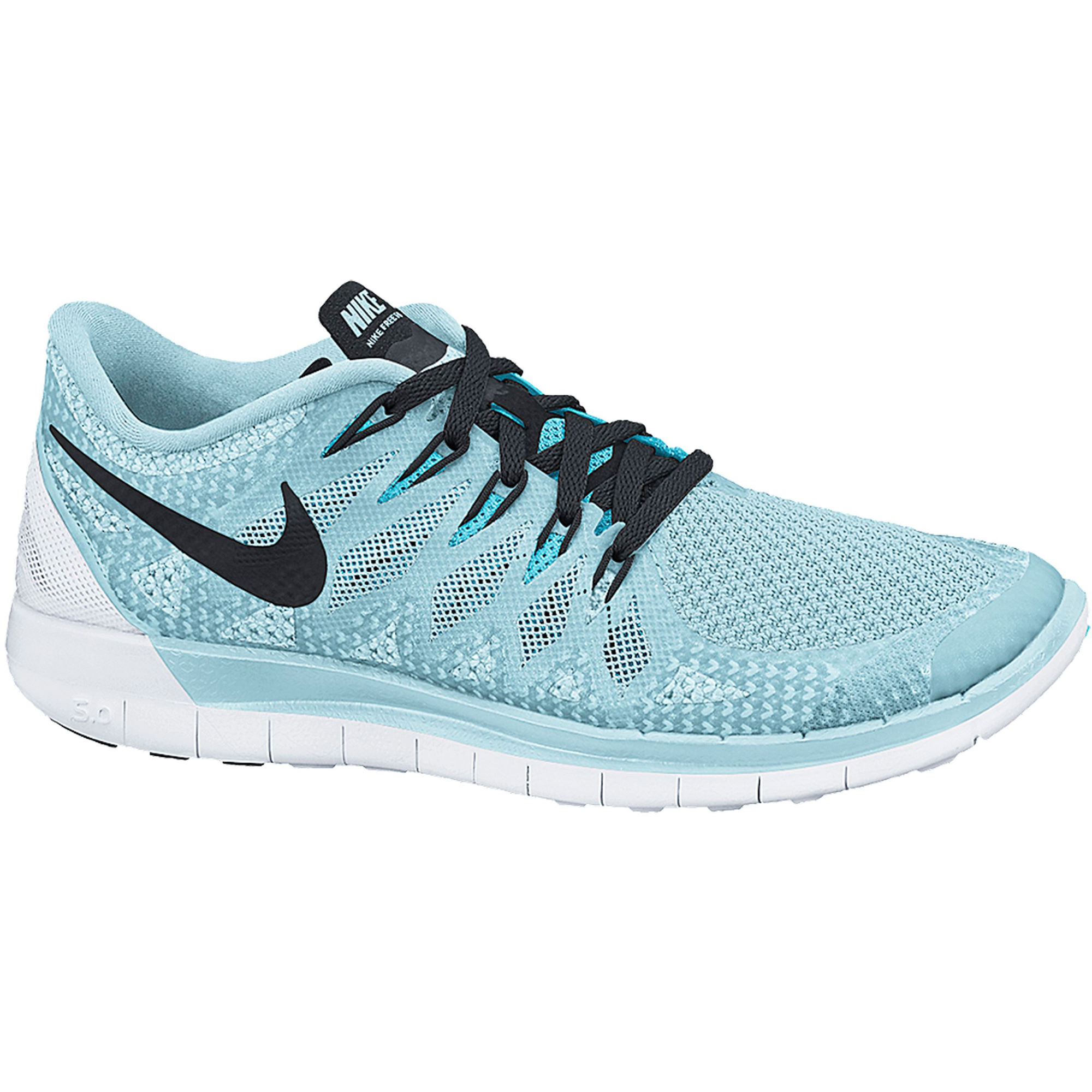nike free run 5.0 womens light blue