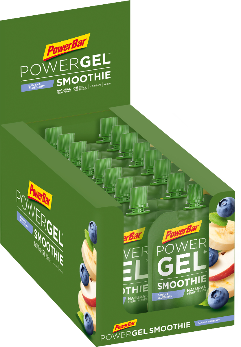 PowerBar PowerGel Fruit with Caffeine (24 x 41g) | energy gel
