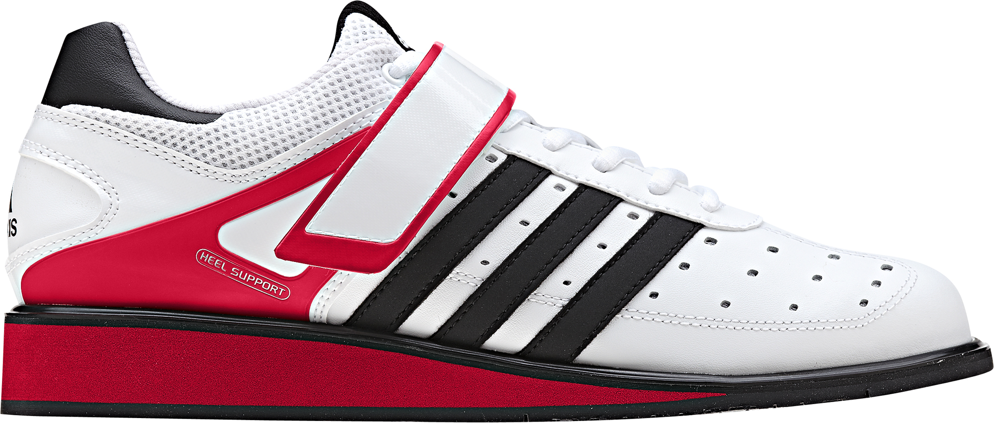 WhiteRed G17563 Adidas Power Perfect 2.0 Weight Lifting