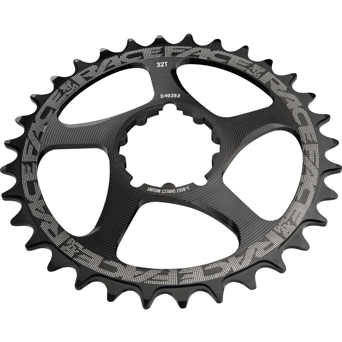 Race Face Direct Mount Sram Narrow/wide Single Chainring - 34t Black