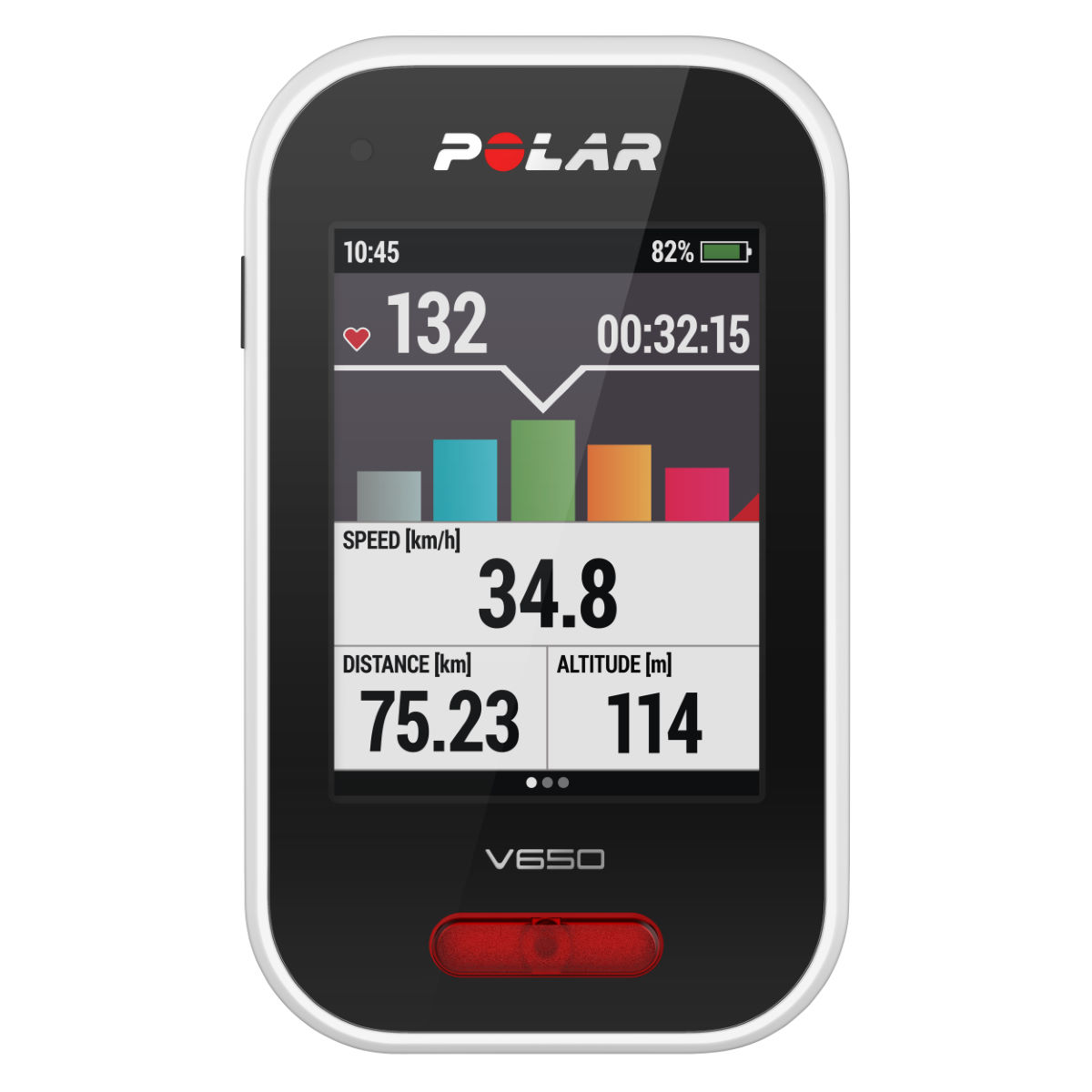 Polar V650 Cycling GPS Computer   GPS Cycle Computers