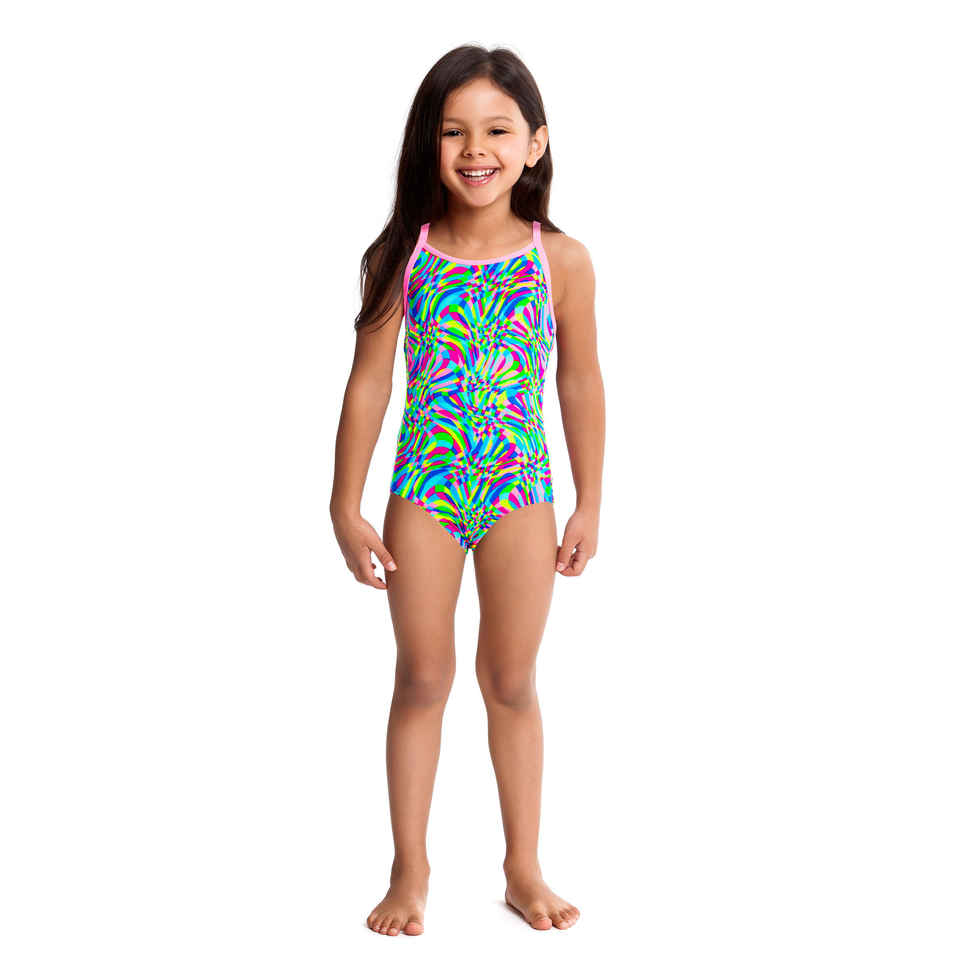 Wiggle | Funkita Toddlers Sweet Smoothie Printed One Piece ...