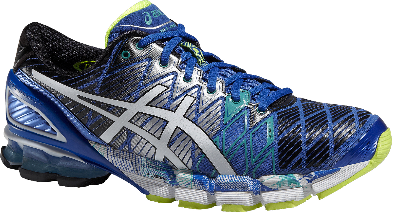 real asics gel kinsei 5 marrone verde 0d467 09912