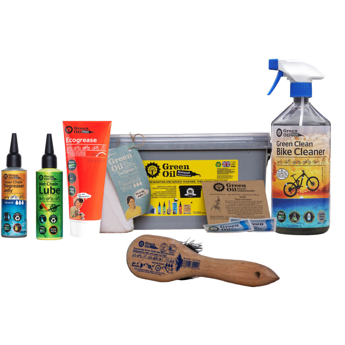 Green Oil Green Oil Eco Rider Deluxe Set   Cleaning Products