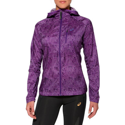 Matón Cualquier Injerto  wiggle.com | Asics Women's Fujitrail Packable Jacket - SS15 | Internal