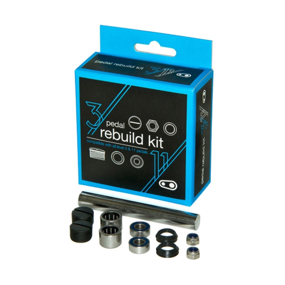Crank Brothers Pedal Rebuild Kit (Level 3 and 11)