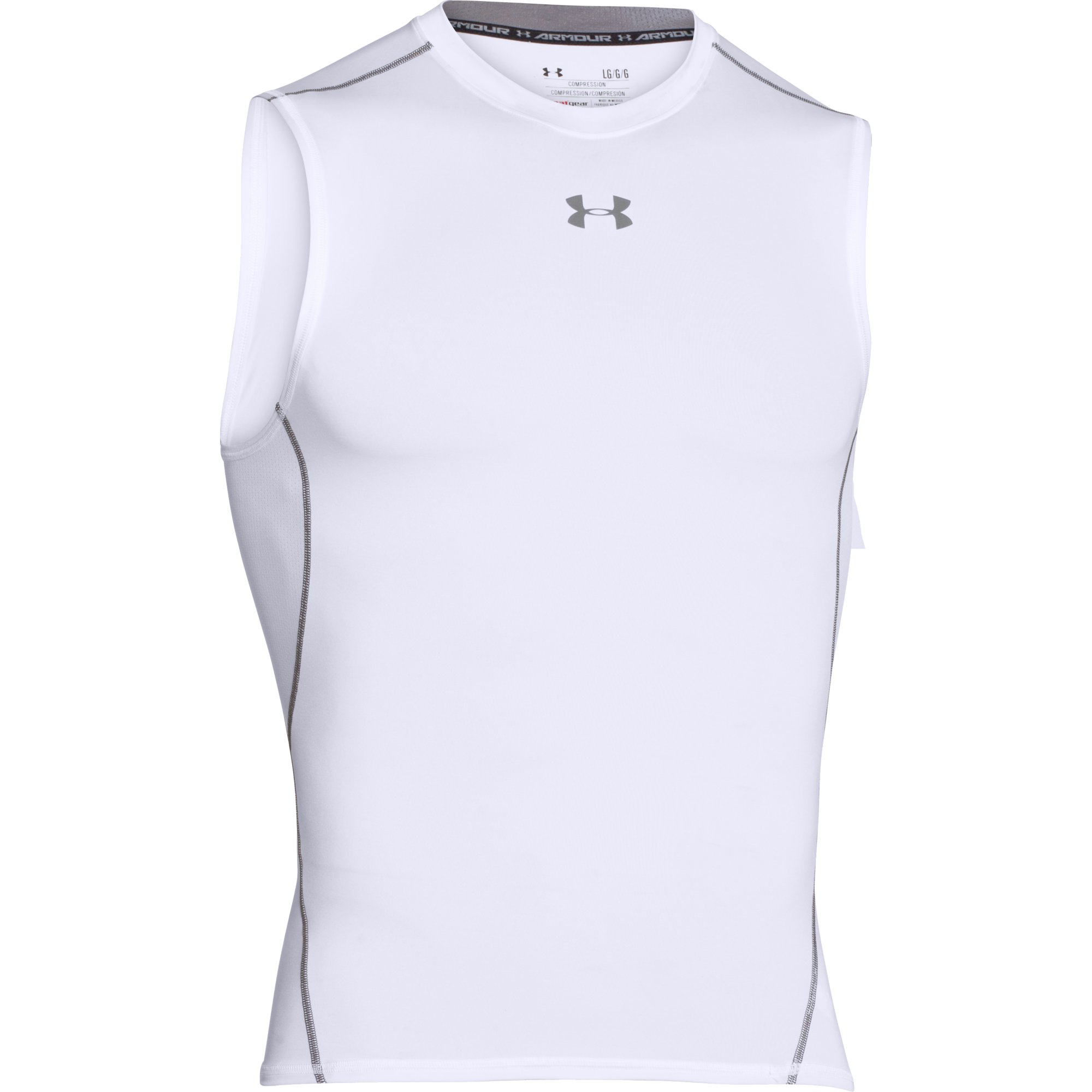 Ricordo particella da qualche parte  wiggle.com | Under Armour Heatgear Armor Sleeveless Compression Tee |  Compression Tops