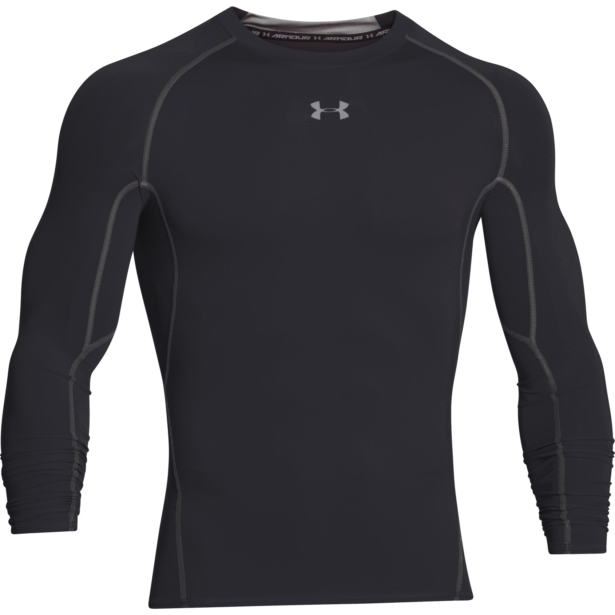 8b22d8ca9 Wiggle | Under Armour Heatgear Armour Long Sleeve Compression Tee |  Compression Tops