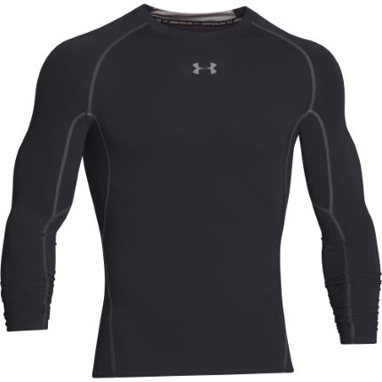 7e4a3f619 View in 360° 360° Play video. 1.  . 19. Black  Heatgear Armour Long Sleeve  Compression Tee ...