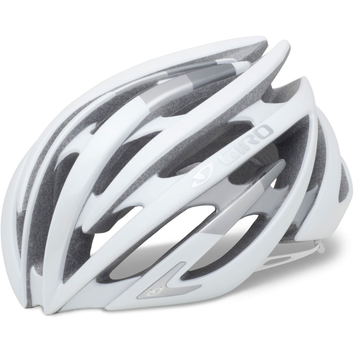 Image of Casque de route Giro Aeon - Medium 55-59cm Matt White/Silver 19