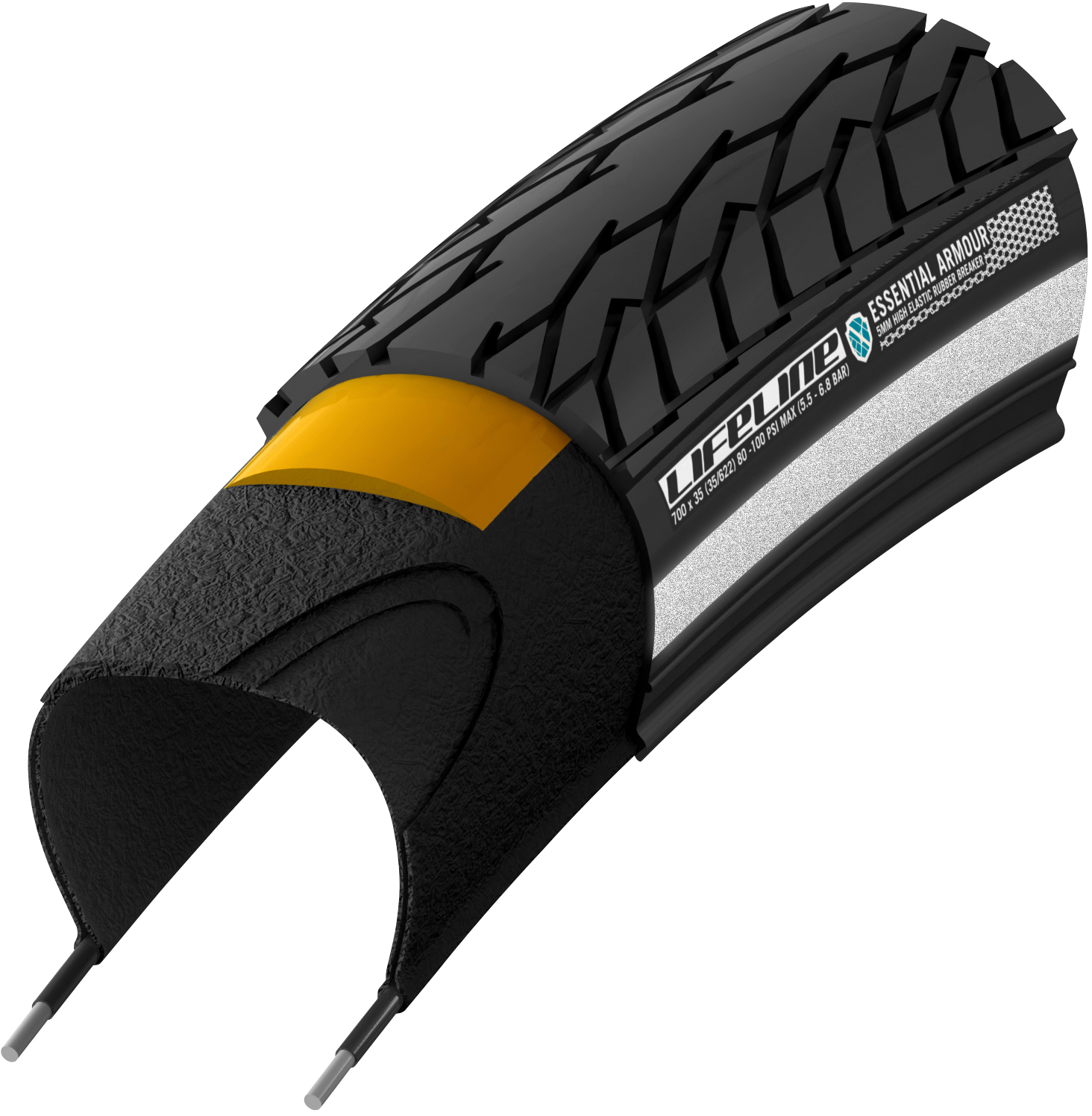 LifeLine Essential Armour Commuter Road Tyre | Tyres