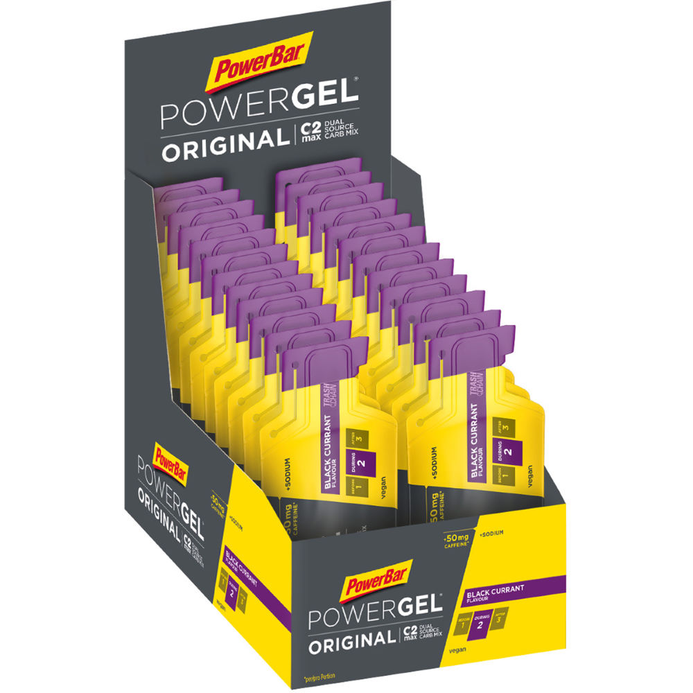 Box of 24 x 41g PowerGel Sachets With Caffeine