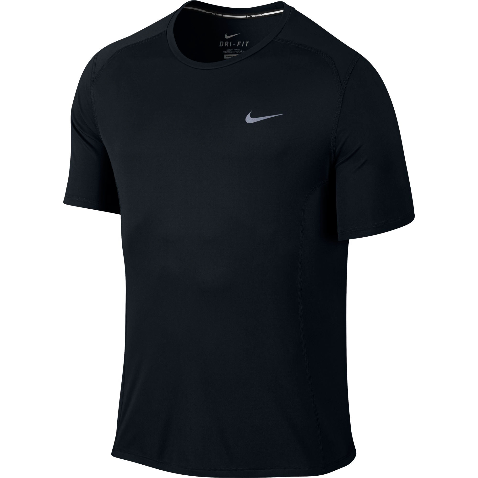 wiggle nike dri fit miler short sleeve ho15 running short sleeve tops. Black Bedroom Furniture Sets. Home Design Ideas