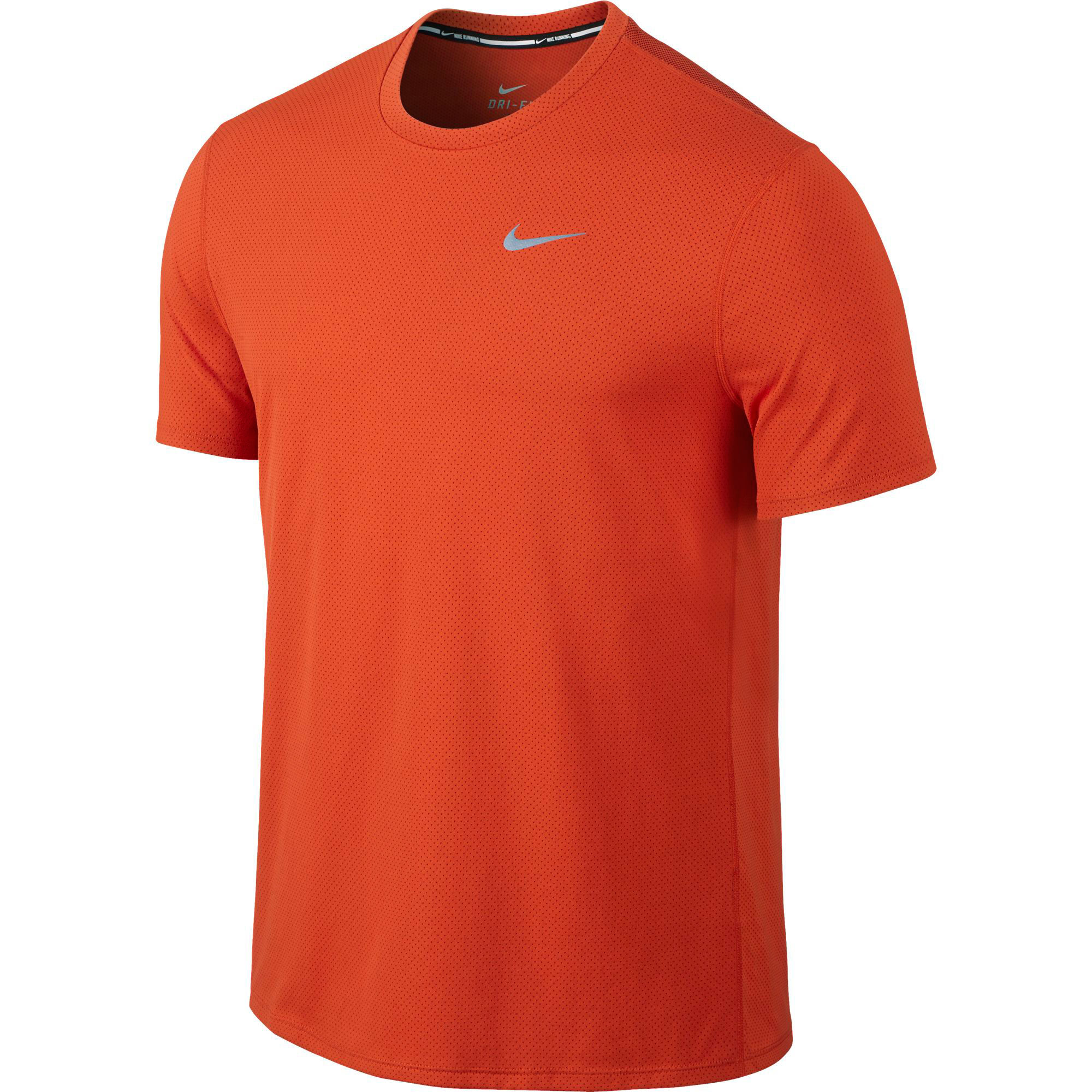 wiggle nike dri fit contour short sleeve fa15 running short sleeve tops. Black Bedroom Furniture Sets. Home Design Ideas