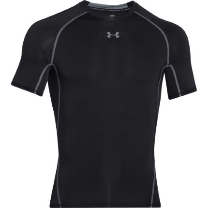a2b3963f9 View in 360° 360° Play video. 1. /. 26. Black; HeatGear Armour SS Compression  Top; HeatGear Armour SS ...