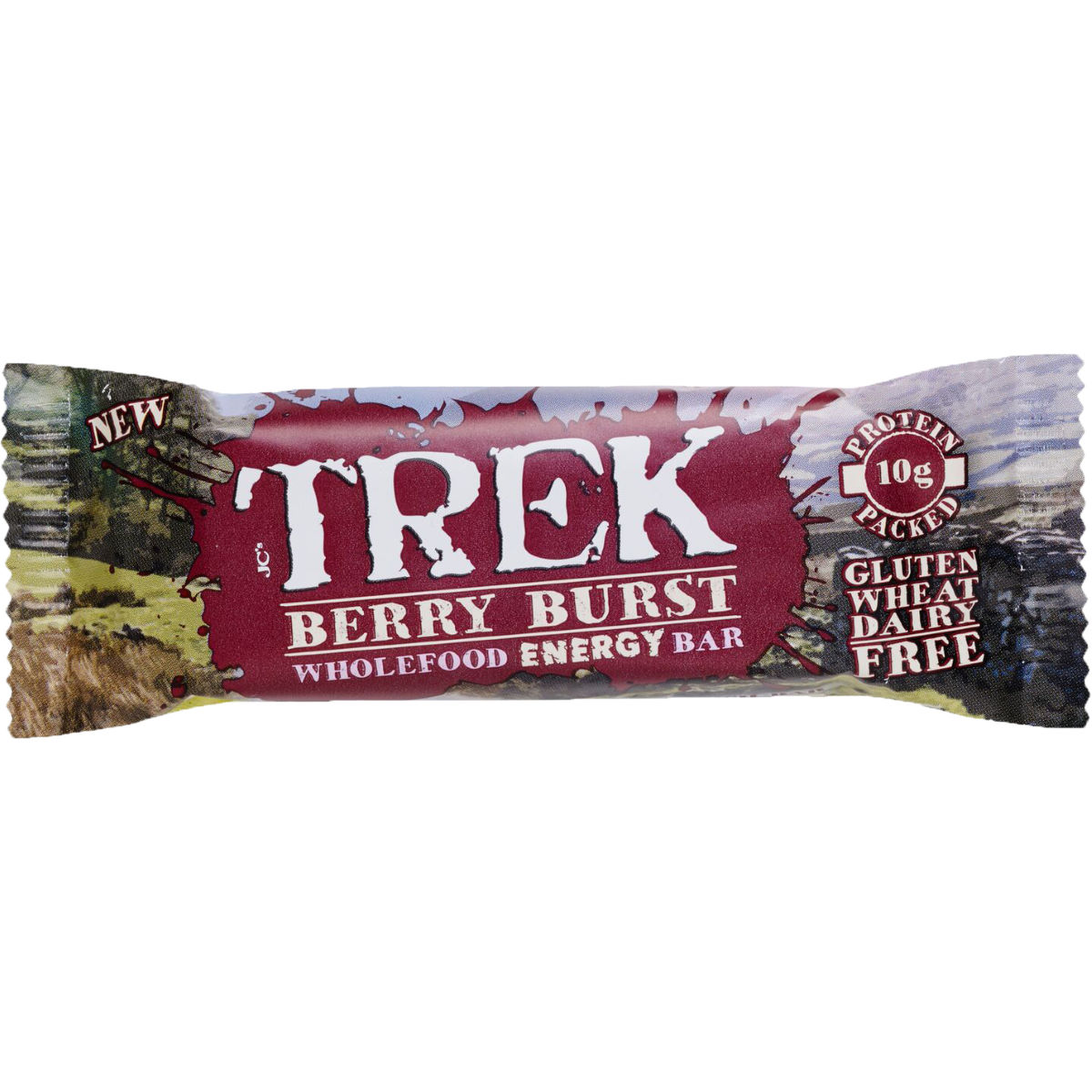 Image of Barres protéinées TREK (16 x 55 g) - 16x55g 11-20 Berry Burst | Barres