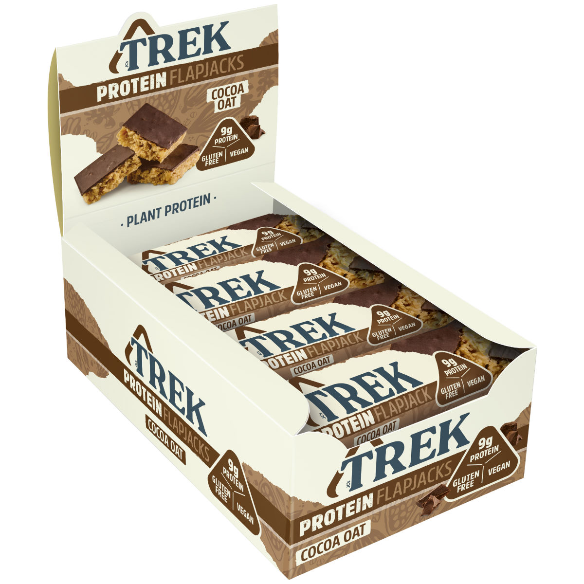 Image of Flapjacks TREK (16 x 50 g) - 16x50g 11-20 Banana Bread | Barres