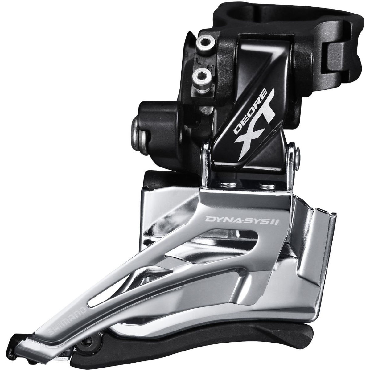 Shimano Deore Xt M8025 Front Derailleur - H - Double-dual Pull Grey