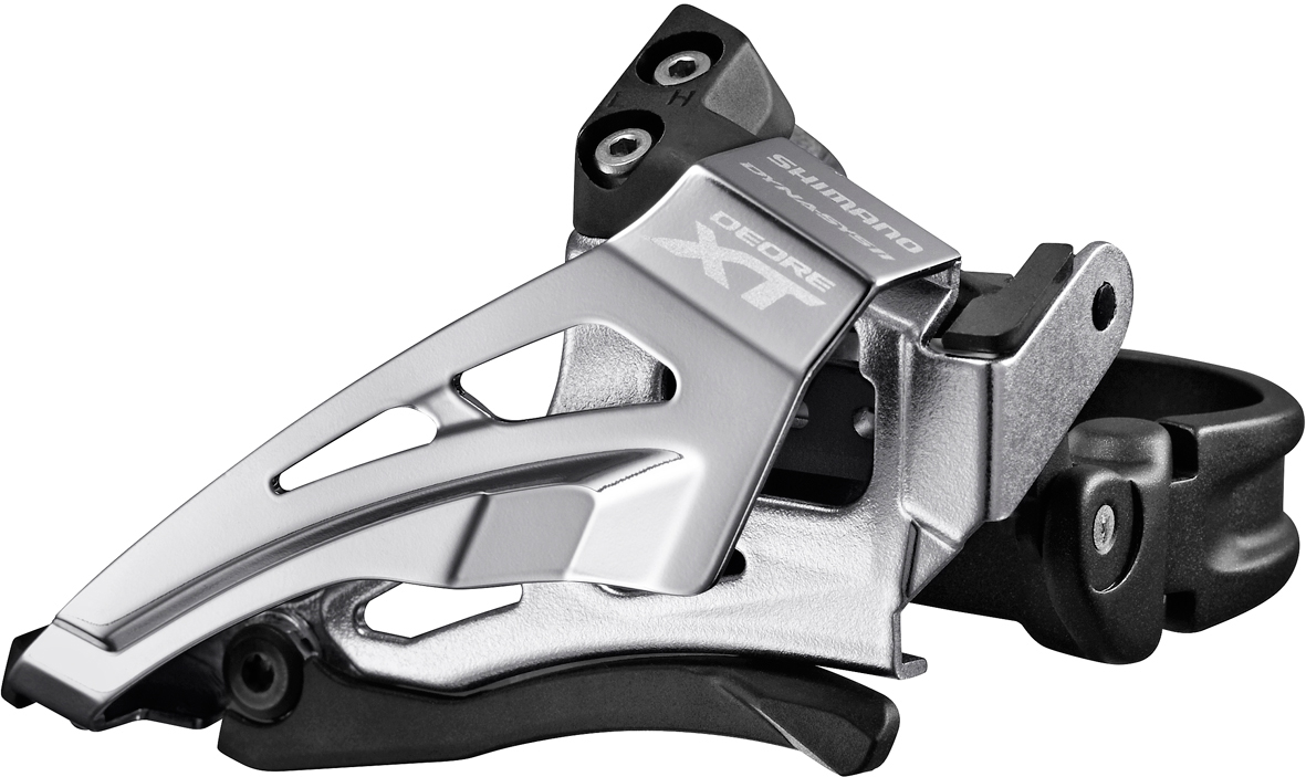 Shimano Deore XT M8025 Forskifter | Front derailleur