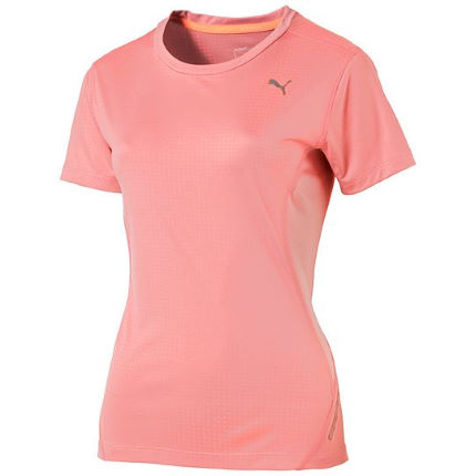 maillots de running manches courtes puma running pwr cool t shirt women 39 s ss15 wiggle. Black Bedroom Furniture Sets. Home Design Ideas