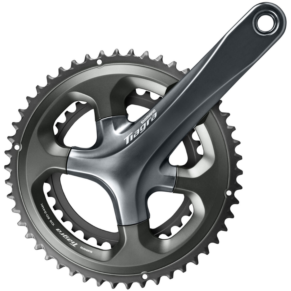 Shimano Tiagra 4700 10 Speed Chainset - 165 52.36 165mm Grey
