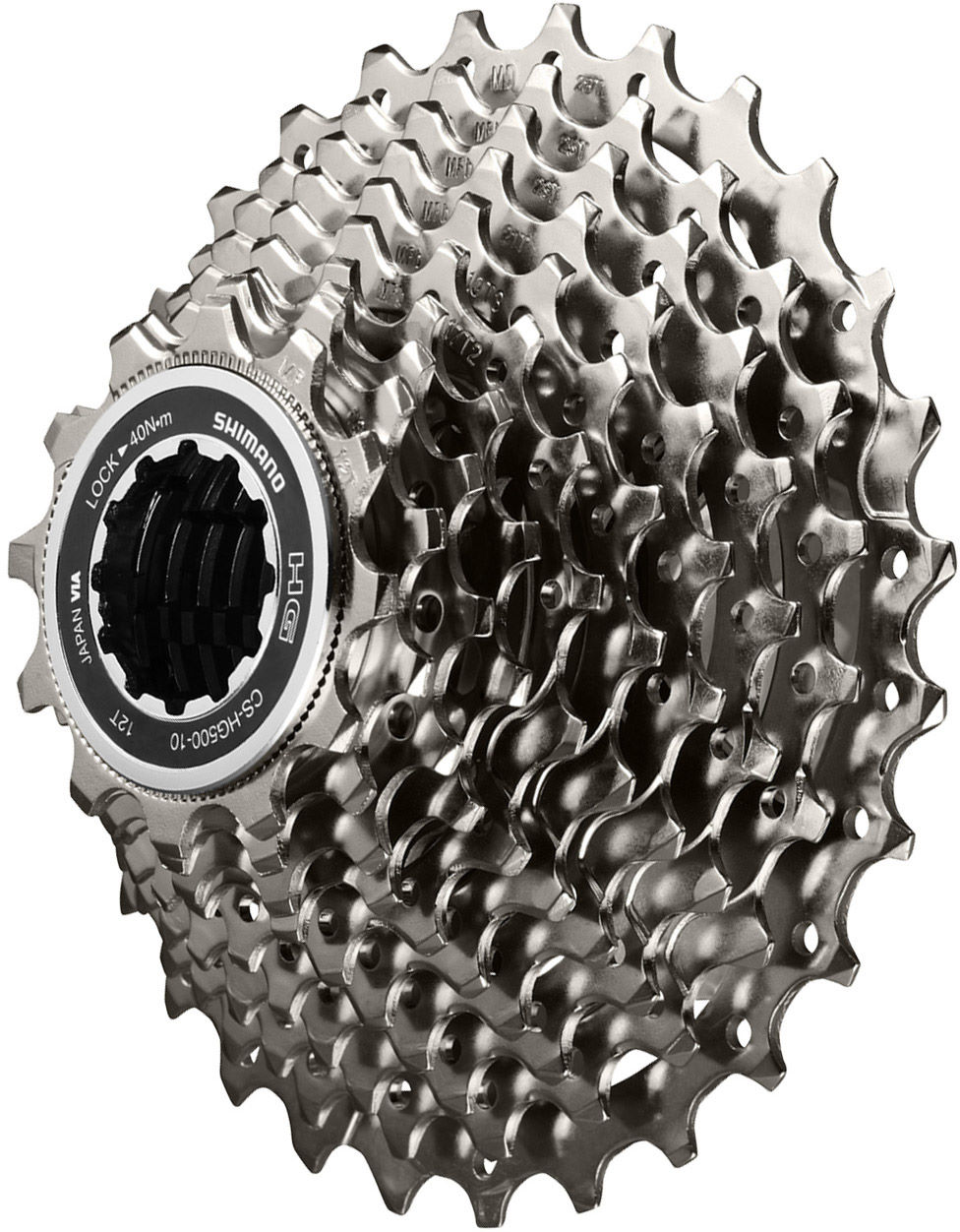 NEW silver Shimano 1.85mm Spacer for 10spd cassettes on 11spd freehub