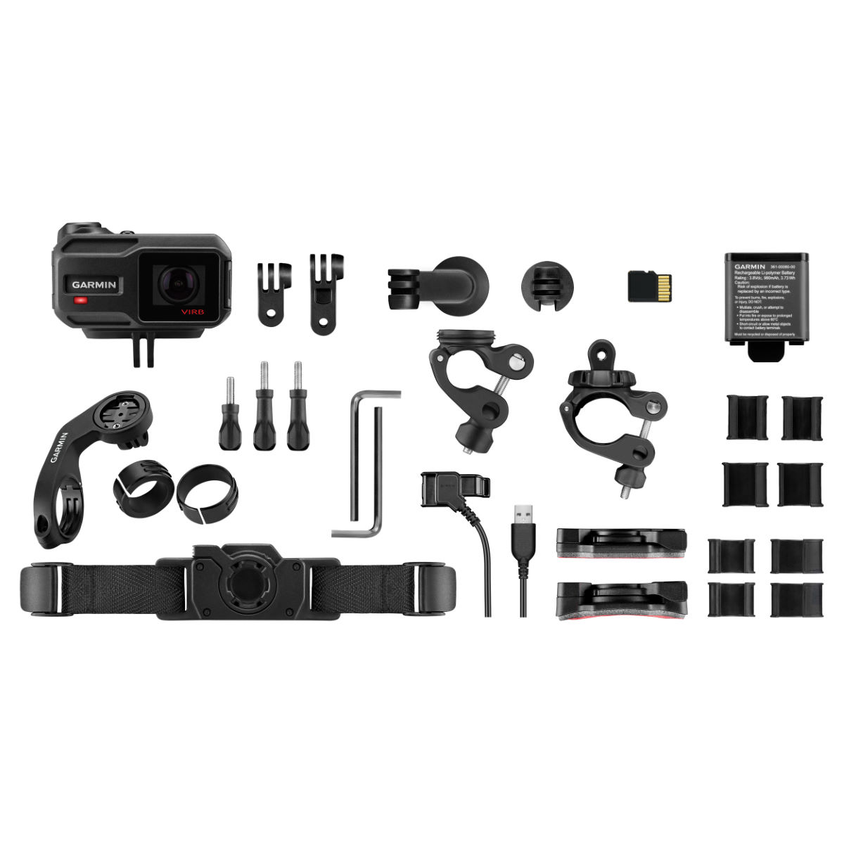 Garmin VIRB XE Action Camera Cycling Bundle   Helmet Cameras