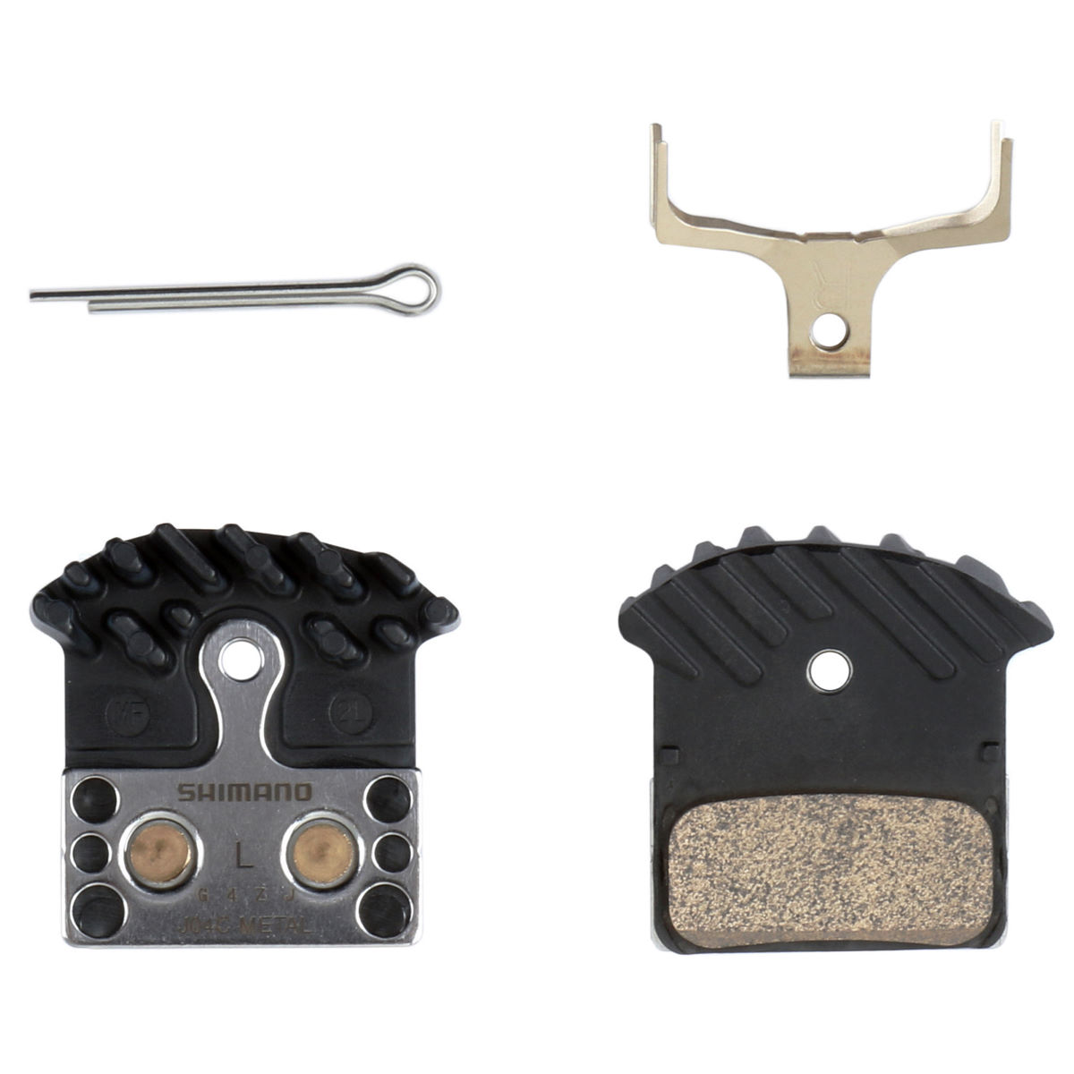 Shimano Disc Brake Pad and Spring (with Fin)   Disc Brake Pads