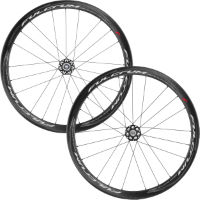 Set di ruote Racing Quattro (clincher, carbonio, freni a disco) - Fulcrum