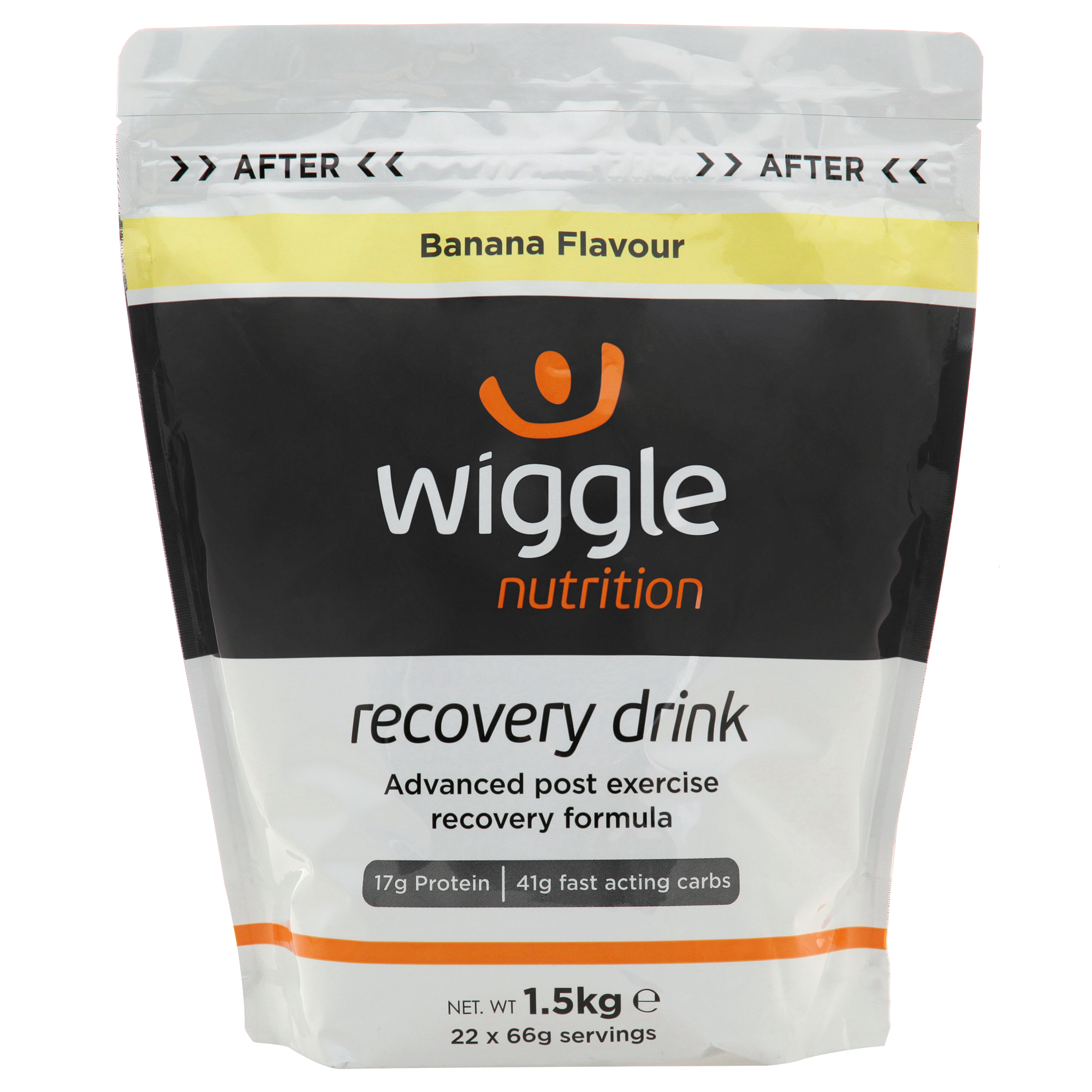 Wiggle Nutrition Recovery Drink (1.5kg) | Protein bar and powder