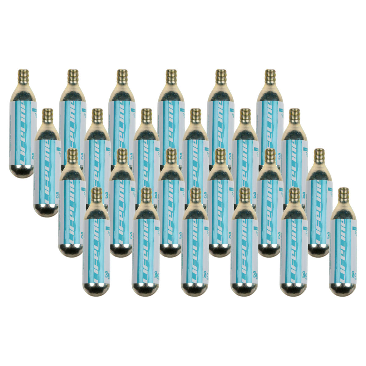 LifeLine 16g CO2 Inflator Cartridges Extra Value 24 Pack