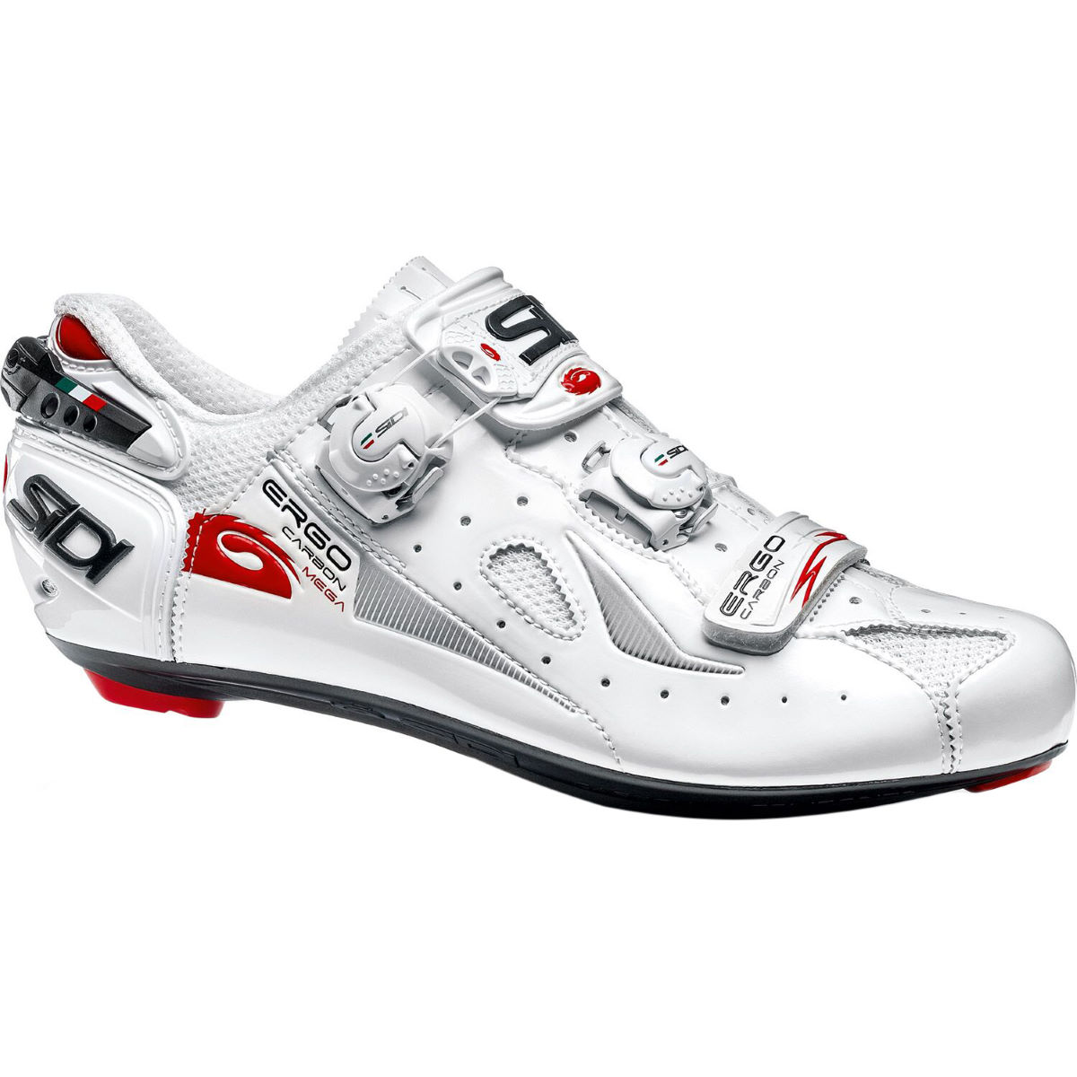 Zapatillas de carretera Sidi Ergo 4 Carbon (Mega/Wide Fit) - Zapatillas para bicicletas de carretera