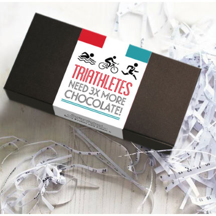 Gift Library Triathletes Chocolate Box