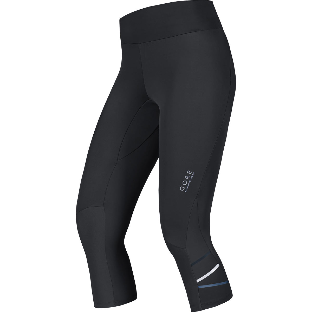 Image of Corsaire Femme Gore Running Wear Mythos Lady Run - S Noir | Collants