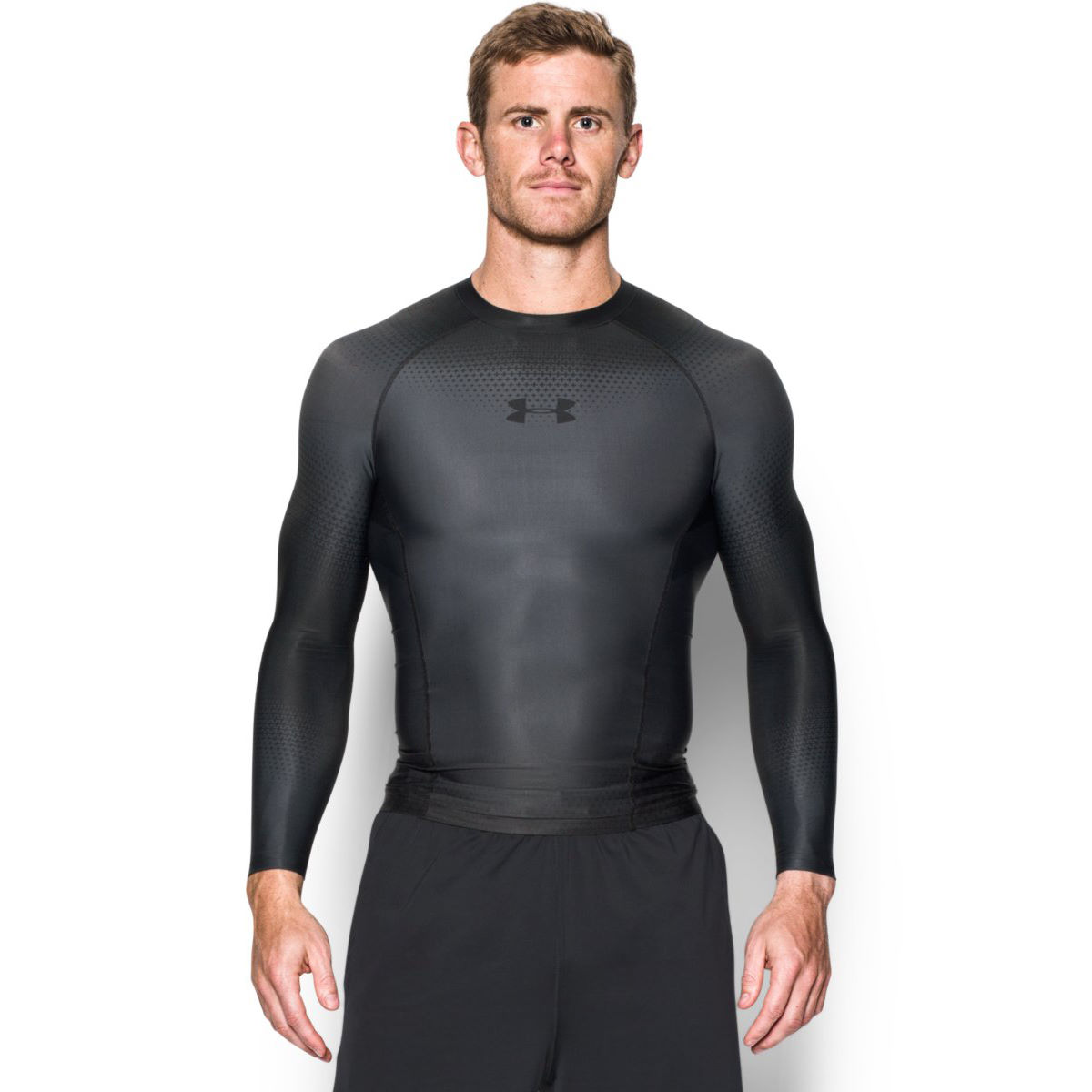 wiggle under armour charged compression long sleeve shirt aw16 compression base layers. Black Bedroom Furniture Sets. Home Design Ideas