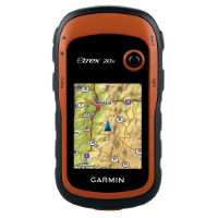 GPS de mano Garmin eTrex 20x (con mapas de Europa Occidental)