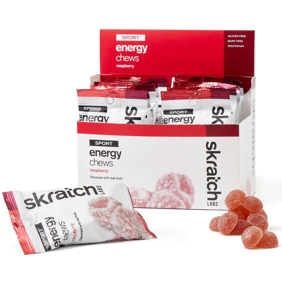 Image of Pastilles aux fruits skratch labs (10 sachets) - 10 x 50g 6-10