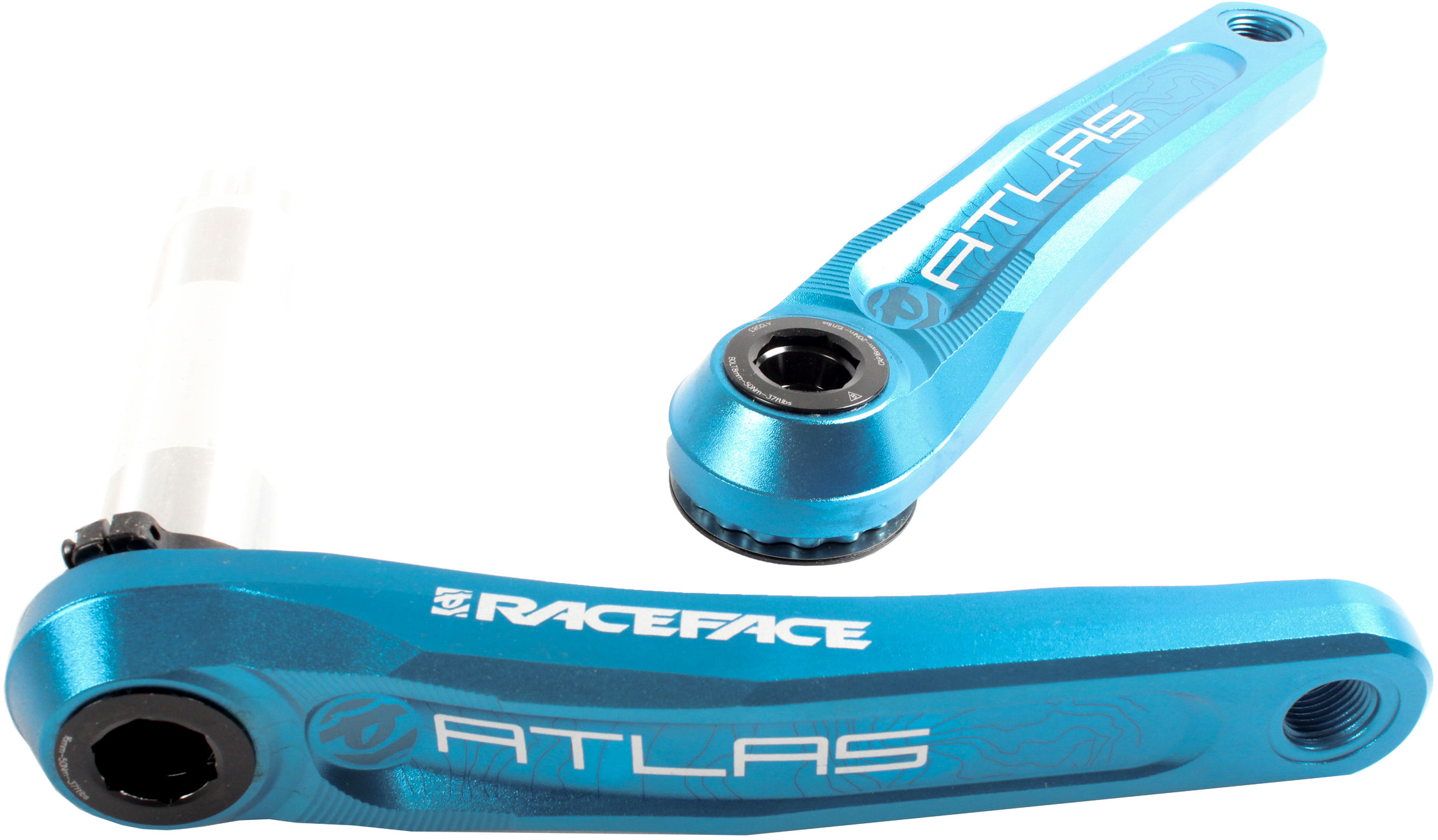 New Race Face Atlas Cinch Crank Arm Set 170mm Red