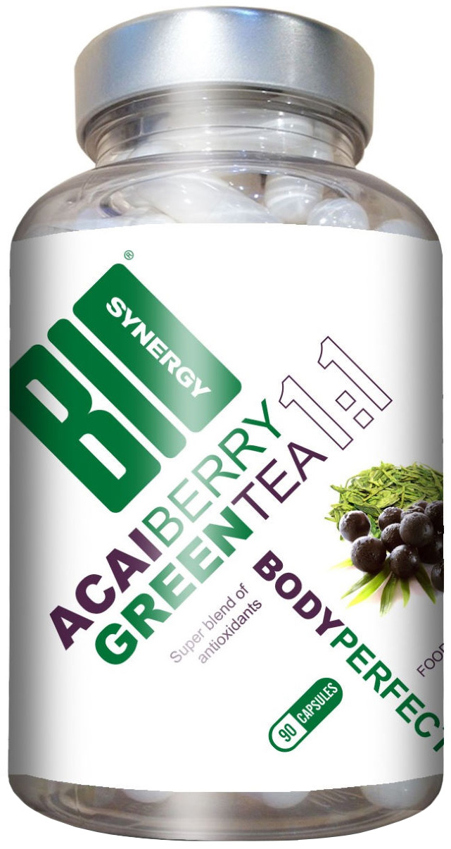 Bio-Synergy Body Perfect Acai Berry and Green Tea (90 capsules) | Kassettehus