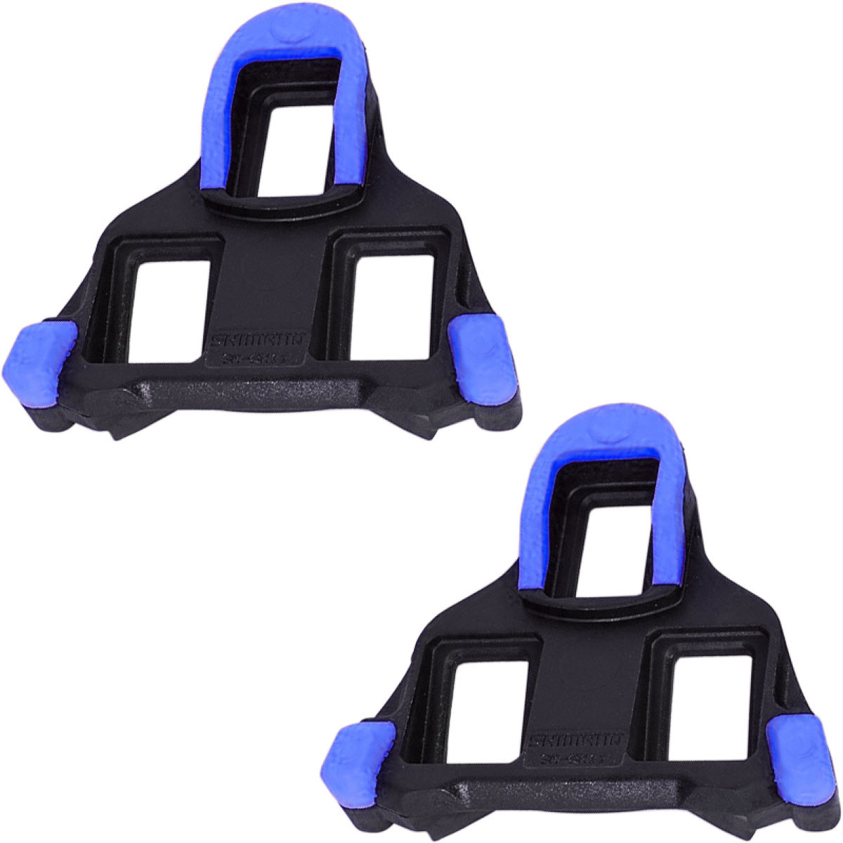 Shimano Spd Sl Cleats - Floating - Sh12 Blue Front Pivot  Cleats