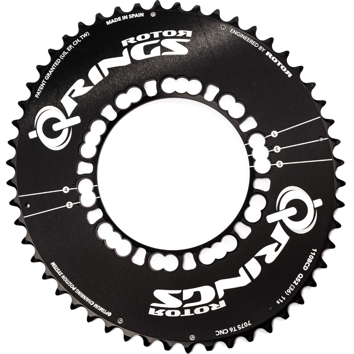Rotor Q Chainring (Outer, Aero)