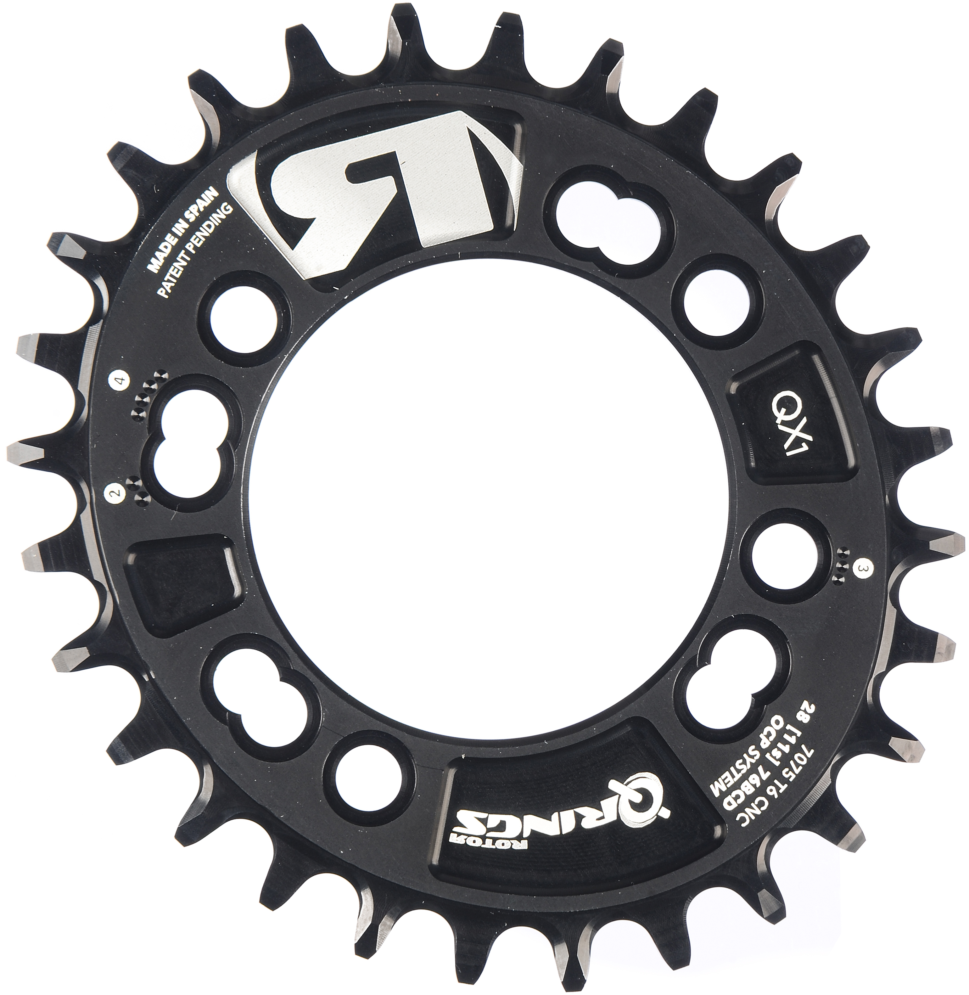 Rotor QX1 MTB Chainring (for 1x Systems) | chainrings_component