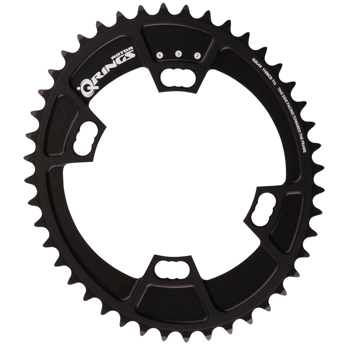 Rotor QXL Chainring (Inner 44 Tooth - Shimano)   Chain Rings