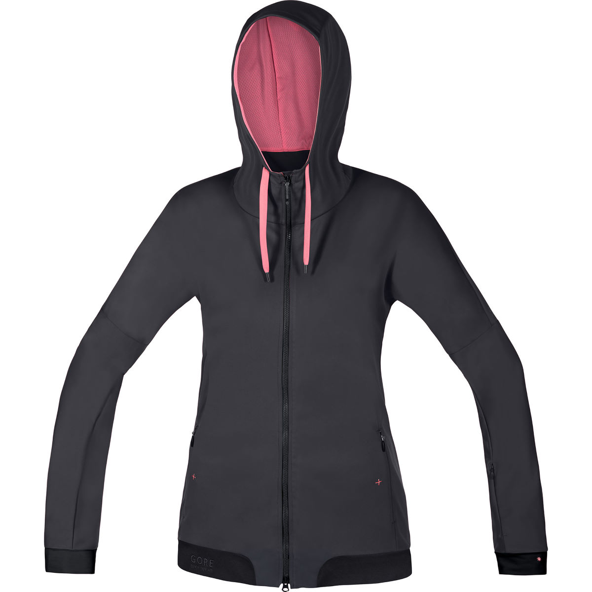 Sweat à capuche Femme Gore Bike Wear Power Trail Windstopper - XS