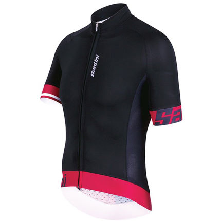 View in 360° 360° Play video. 1.  . 1. Santini s Sleek 2.0 Aero jersey ... 88623cae0