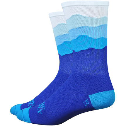 "DeFeet Aireator Skyline Dawn 6"" Socks"