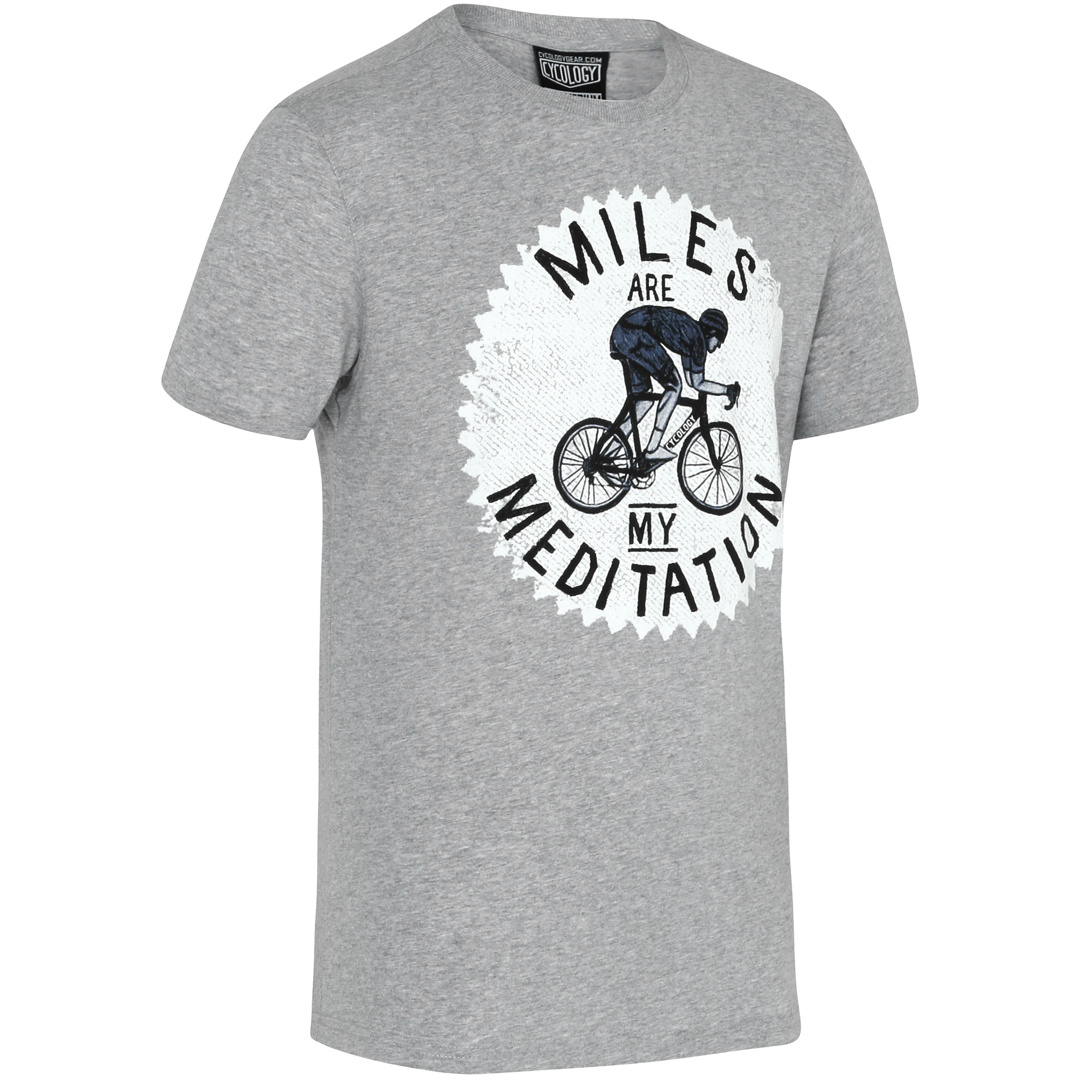 Cycology Miles are my Meditation T-Shirt - Herre | Trøjer