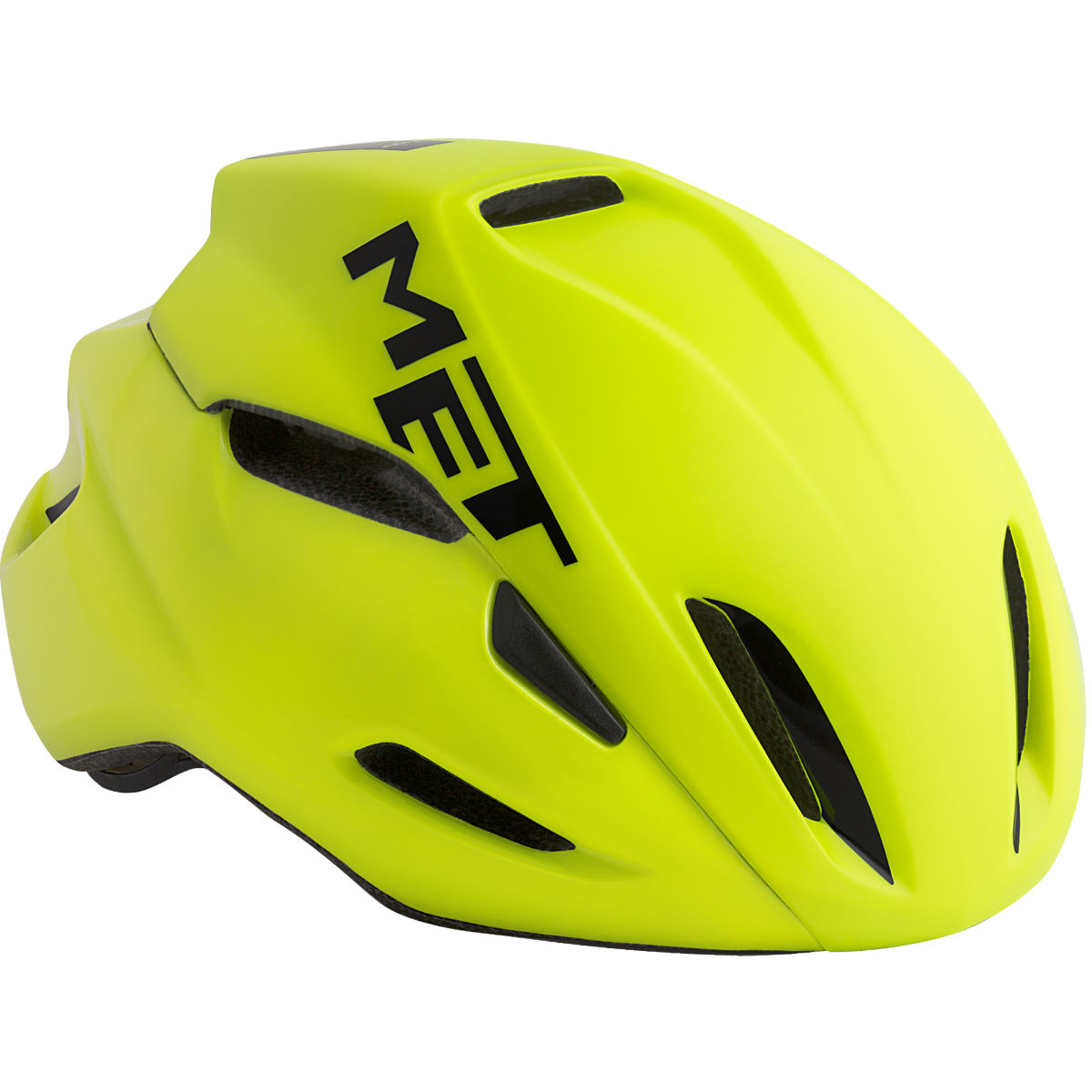 Image of Casque de route MET Manta - 52cm to 56cm Safety Yellow   Casques